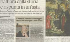 Un maestro del '500 riaffiora dalla storia e rispunta in un'asta – Lorenzo Fasolo